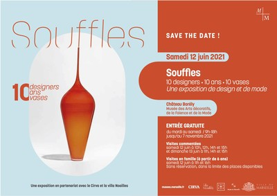 SOUFFLES, exposition au Château Borely - © Villa Noailles Hyères