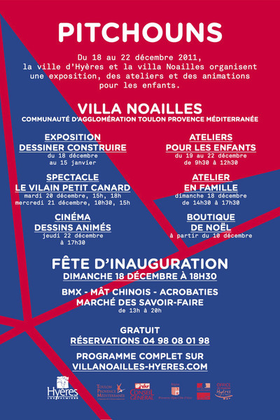 1er festival Pitchouns - © Villa Noailles Hyères