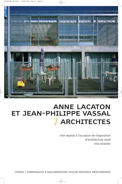 Anne Lacaton, Jean-Philippe Vassal - © Villa Noailles Hyères