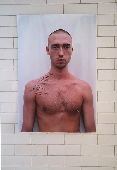 Marc Turlan, L'été Simon Techniques mixtes, 63x80 cm, 2020 - © Villa Noailles Hyères