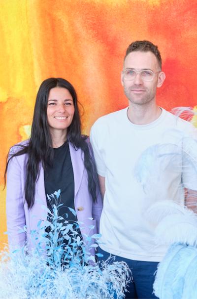 Caroline Wolewinski et Sandro della Noce, Prix Visual Merchandising décerné par CHANEL 2019 - © Villa Noailles Hyères