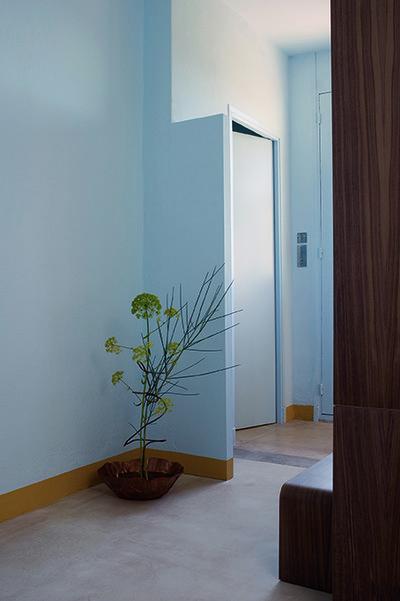 Clos Saint-Bernard dit villa Noailles. Chambre de résidence, design Florence Doléac.  Photographie : Olivier Amsellem - © Villa Noailles Hyères