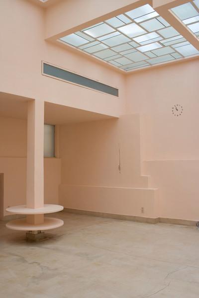 Clos Saint-Bernard dit villa Noailles. Le salon rose.  Photographie : Olivier Amsellem - © Villa Noailles Hyères
