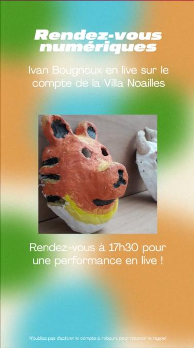 Rendez-vous artistiques numériques - © Villa Noailles Hyères